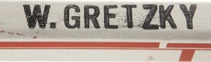 1988-89 Wayne Gretzky Game Used Stick