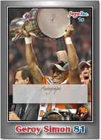 2012 Jogo CFL Signature set card 1