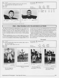 Collecting Canadian Football Volume 2 Price Guide sample page