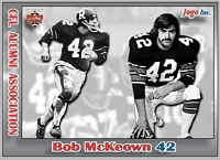 2013 Jogo CFL Alumni Association card #4 Bob McKeown