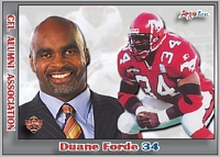 2013 Jogo CFL Alumni Association card #6 Duane Forde