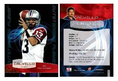 2008 Extreme CFL cards