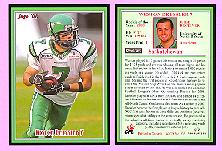 2008 Jogo CFL Rookie of the Year card - Weston Dressler