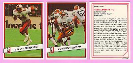 picture of 1985 Jogo CFL football cards