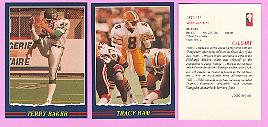 picture of 1989 Jogo CFL football cards