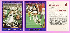 picture of 1990 Jogo CFL football cards