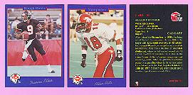 picture of 1991 Jogo CFL football cards