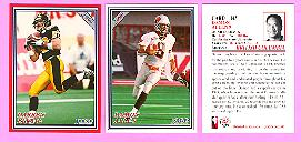 picture of 2000 Jogo CFL football cards