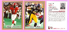 picture of 2001 Jogo CFL football cards