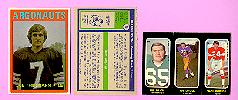 picture of 1972 OPC CFL football cards