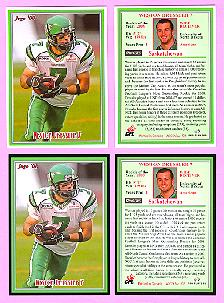 2008 Jogo CFL Rookie of the Year card