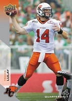2014 Upper Deck CFL Football Card