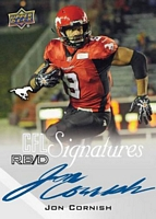 2014 Upper Deck CFL Football Signature card