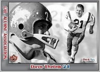 2014 Jogo CFL alumni Dave Thelen card front