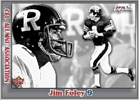 2015 Jogo CFL alumni James Murphy card front