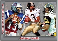 2016 Jogo CFL alumni Anthony Calvillo card front