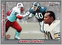2016 Jogo CFL alumni James Parker card front