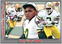 2017 Jogo CFL alumni Henry 'Gizmo' Williams card front