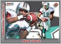 2017 Jogo CFL alumni Mark Stock card front