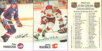 88-89 Esso All-Stars Hockey Cards