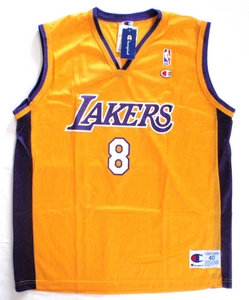Kobe Bryant Los Angeles Lakers gold replica basketball jersey