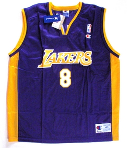 Kobe Bryant Los Angeles Lakers replica basketball jersey