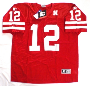Nebraska Cornhuskers NCAA replica football jersey