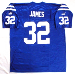Indianapolis Colts NFL replica football jersey back