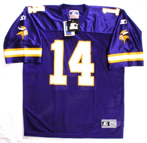 Minnesota Vikings NFL replica football jersey