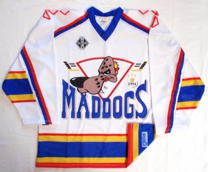Mad Dogs hockey jersey