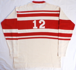 1930-31 Detroit Falcons heritage replica hockey jersey back