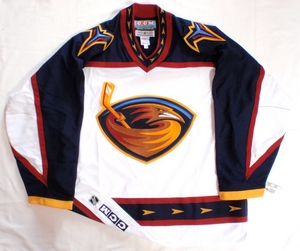 Atlanta Thrashers authentic pro hockey jersey