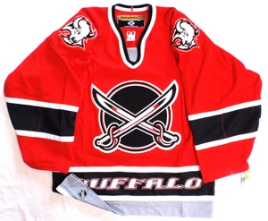 Buffalo Sabres authentic pro hockey jersey