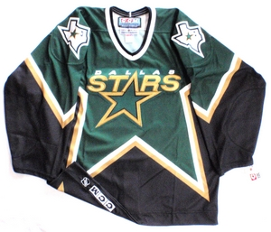 Dallas Stars authentic pro hockey jersey