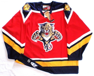 Florida Panthers authentic pro hockey jersey