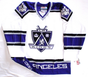 Los Angeles Kings authentic pro hockey jersey