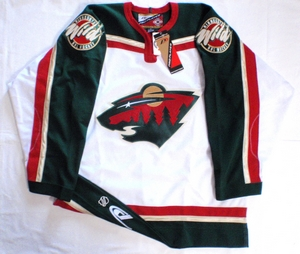 Minnesota Wild authentic pro hockey jersey