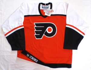 Philadelphia Flyers authentic pro hockey jersey
