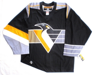 Pittsburgh Penguins authentic pro KOHO hockey jersey