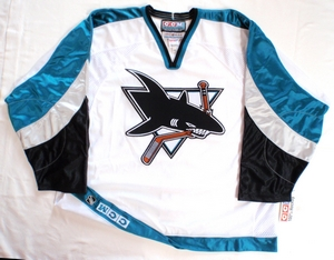 San Jose Sharks authentic pro hockey jersey