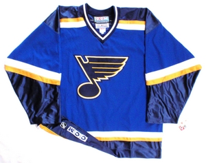 St. Louis Blues authentic pro hockey jersey