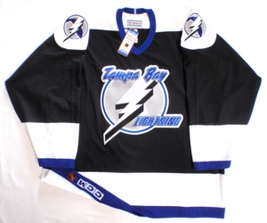 Tampa Bay Lightning authentic pro hockey jersey