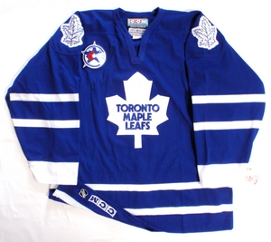 Toronto Maple Leafs authentic pro hockey jersey