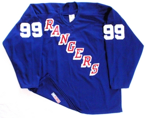 New York Rangers practice hockey jersey