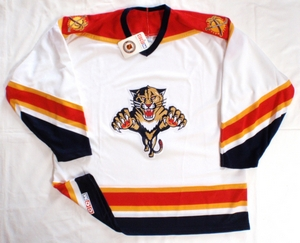 Florida Panthers replica hockey jersey