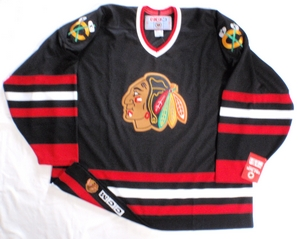 Chicago Blackhawks semi-pro hockey jersey