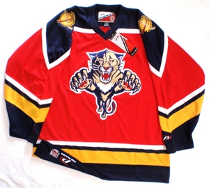 Florida Panthers semi-pro hockey jersey