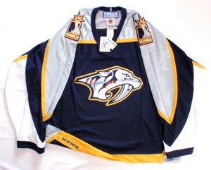 Nashville Predators semi-pro hockey jersey