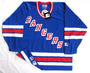 New York Rangers semi-pro hockey jersey