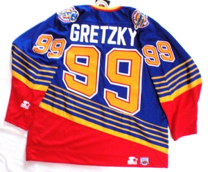 St. Louis Blues semi-pro hockey jersey back